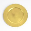 Saro Couleurs du Monde Classic Design Charger Plate (Set of 4)