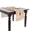 Saro Lotus Wooden Beaded Design Runner