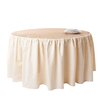 Saro Toulouse Design Burlap and Cotton Design Tablecloth