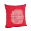 Saro Spice Market Stitched Design Pillow