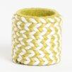 Saro Braided Design Napkin Ring (Set of 4)