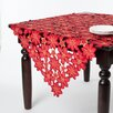 Saro Embroidered and Cutwork Table Topper