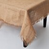 Saro Burlap Tablecloth