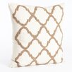 Saro Moroccan Beaded Pillow