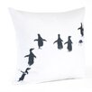 Saro Penguin Pillow