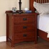 <strong>Michael Ashton Design</strong> Mission 3 Drawer Nightstand