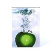 <strong>Trademark Fine Art</strong> 'Apple Splash II' by Roderick Stevens Photographic Print on Canvas