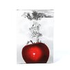 <strong>'Red Apple Splash' by Roderick Stevens Photographic Print on Canvas</strong> by Trademark Fine Art