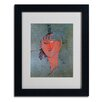 Trademark Fine Art Amadeo Modigliani 'The Red Head 1915' Matted Framed Art