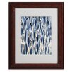 Trademark Fine Art Gregory O'hanlon 'Wavelets' Matted Framed Art