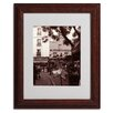 Trademark Fine Art Kathy Yates 'Maison Catherine Montmartre' Matted Framed Art