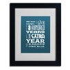 Trademark Fine Art 'Irish Proverb I' by Megan Romo Framed Textual Art