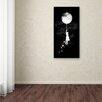 "Trademark Fine Art ""Midnight Traveler"" by Budi Satria Kwan Graphic Art on Wrapped Canvas"