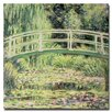 "Trademark Fine Art ""White Nenuphar, 1899"" by Claude Monet Painting Print on Canvas"