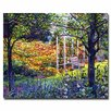 <strong>Trademark Fine Art</strong> 'Garden for Dreaming' by David Lloyd Glover Painting Print on Canvas