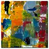 "<strong>""Color Relationships I"" by Michelle Calkins Painting Print on Canvas</strong> by Trademark Fine Art"