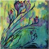 Trademark Fine Art 'Crocus' by Wendra Painting Print on Canvas