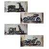 Entrada Motorbikes 4 Piece Pencil Drawing Set