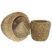 <strong>Entrada</strong> 3 Piece Sea Grass Basket Set