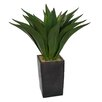 Laura Ashley Home Realistic Giant Aloe Floor Plant in Planter