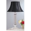 "<strong>Laura Ashley Home</strong> Battersby 28.13"" H Table Lamp with Bell Shade"