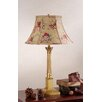 Corinthian Table Lamp with Angelica Bell Shade