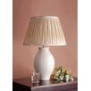 """Laura Ashley Home Lily 22"""" H Table Lamp with Pleated Empire Shade"""