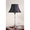 <strong>Morgan Table Lamp with Black Shade</strong> by Laura Ashley Home