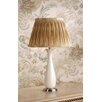 "Laura Ashley Home Penelope 21"" H Table Lamp with Pleated Charlotte Empire Shade"