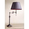 Laura Ashley Home State Street Swing Arm Table Lamp with Stephanie Shade