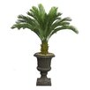 Laura Ashley Home Tall Cycas Palm Floor Tree in Urn