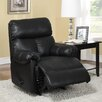 <strong>Dorel Asia</strong> Faux Leather Padded Recliner