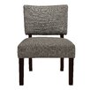 Dorel Living Grayer Linen Side Chair