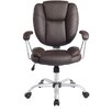 <strong>Mid-Back Comfort Soft Managerial Office Chair</strong> by Techni Mobili