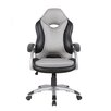 Techni Mobili Series Two Tone High-Back Racer Executive Office Chair