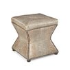 Palatial Furniture Ridgeway Leather Gator Tail Ottoman
