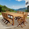 <strong>International Home Miami</strong> Oriole 11 Piece Dining Set