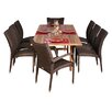 International Home Miami Normandie 9 Piece Dining Set