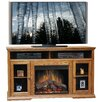 """Legends Furniture Colonial Place 59"""" TV Stand with Electric Fireplace"""