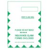 "Tops 9"" x 12.5"" Self  Seal Right Window CMS Envelope (Set of 500)"