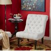 Castleton Home Bennington Scroll Back Tufted Chair