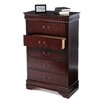 <strong>Castleton Home</strong> Louis Philippe 5 Drawer Chest