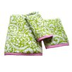 Dena Home Ikat Jacquard Fingertip Towel