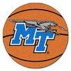 FANMATS NCAA Middle Tennessee State University Basketball Mat