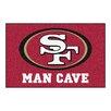 FANMATS NFL San Francisco 49ers Man Cave Starter Area Rug