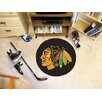 FANMATS NHL Chicago Blackhawks Hockey Puck Mat