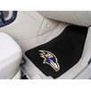 <strong>FANMATS</strong> NFL 2 Piece Carpeted Novelty Car Mats