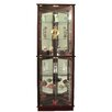 <strong>Floor Standing 3 Sided Corner Curio Cabinet</strong> by Jenlea