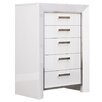 Whiteline Imports Ibiza 5 Drawer Chest