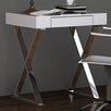 Whiteline Imports Elm Writing Desk with Drawer
